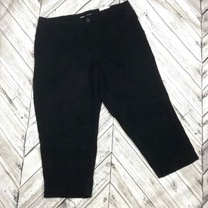 NWT Coldwater Creek River Fit Crop Cropped Pants